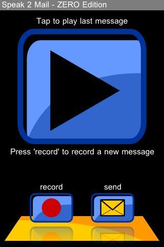 speak2mail - ZERO Edition