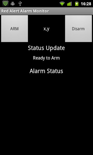 Red Alert Movement Detector