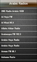 Screenshot of Arabic Radio Arabic Radios
