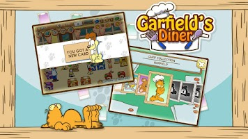 Screenshot of Garfield's Diner