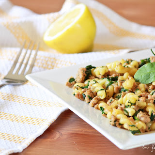 Gemelli Pasta Spinach Recipes