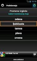Screenshot of Vozi me