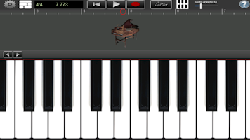 Screenshot of Harpsichord Pro