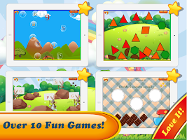 Screenshot of Dino Preschool Learning Games