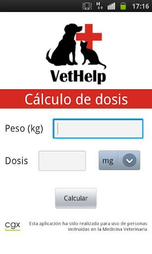 VetHelp - Cálculo de Dosis