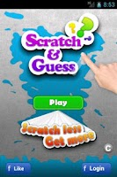 Screenshot of Scratch and Guess