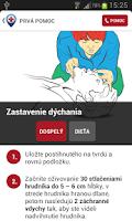 Screenshot of Prvá pomoc