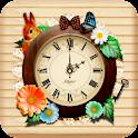 森ガール・ナチュラル・アナログ時計ウィジェット icon