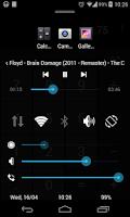 Screenshot of Quick Control Panel