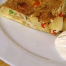 Spanish Omelette With Garlic Mayonnaise