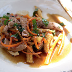 Pork Stir-fry With Holy Basil