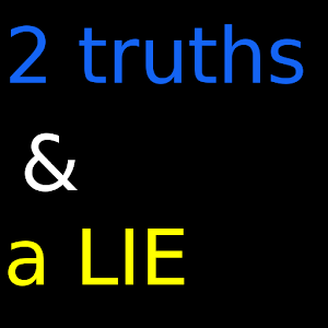 four truths and a lie More of the same in book 3 of mean-girl murder mystery read common sense media's two truths and a lie review, age rating, and parents guide.
