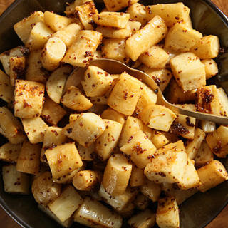 Honey-Mustard Parsnips