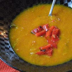Roasted Pepper and Pumpkin Soup