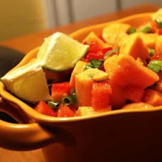 Sweet Potato Salad with Chili-Lime Dressing