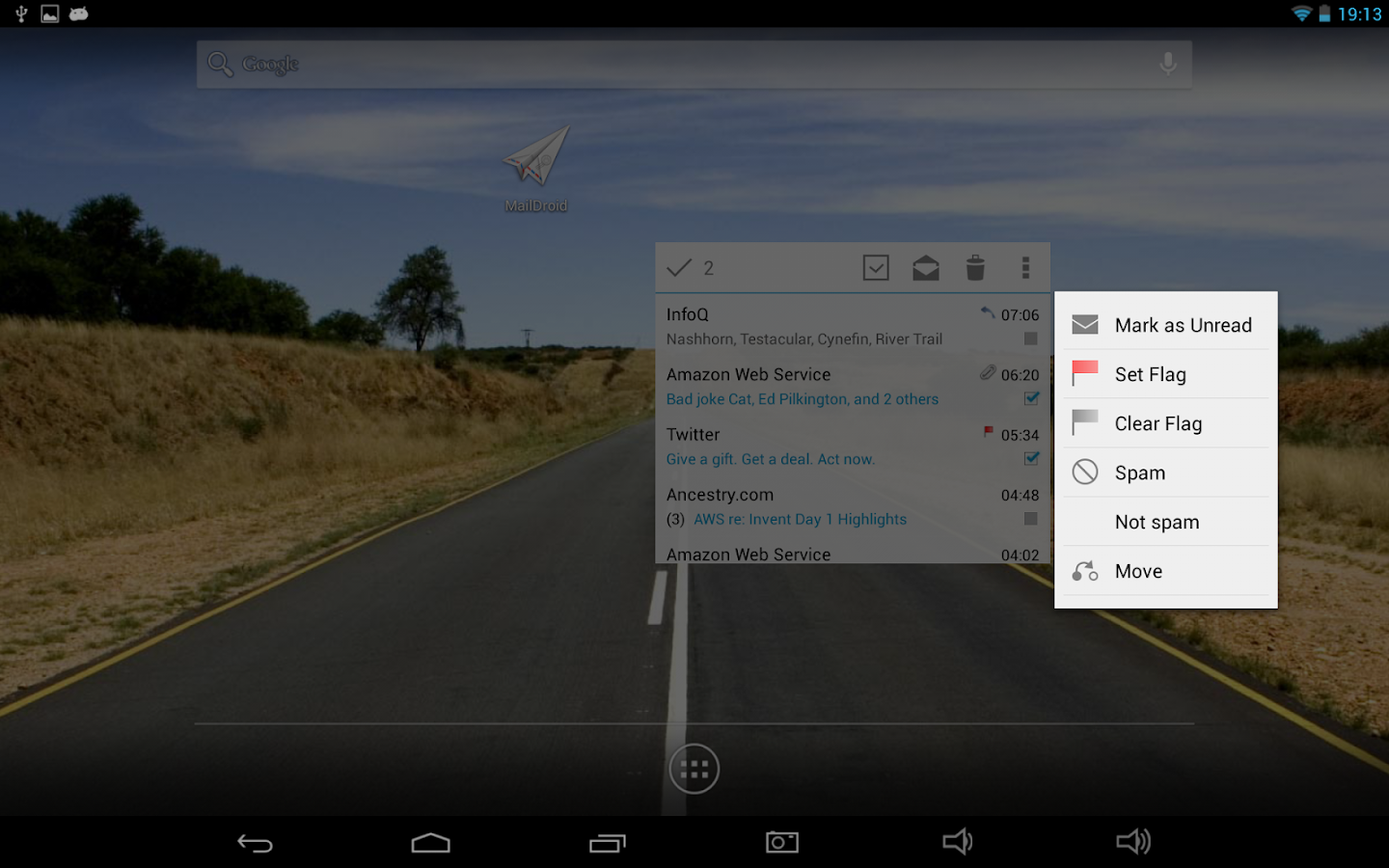 MailDroid Pro - Email Application Screenshot 9