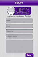 Screenshot of Japanese Knotweed Control
