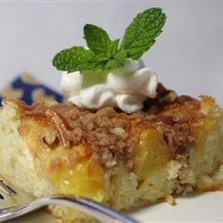 Low Calorie Peach Cake Recipes