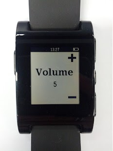 Volume Master for Pebble - screenshot