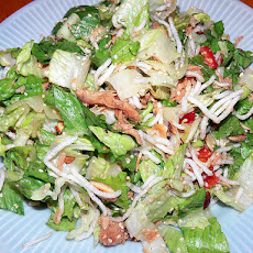 Warm Chinese Chicken Salad