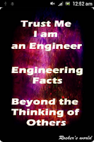 Screenshot of Engineering Facts