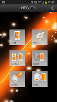 Screenshot of NFC On