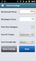 Screenshot of City Shop - Craigslist App