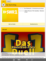 Screenshot of SWR1 Rheinland-Pfalz Radio