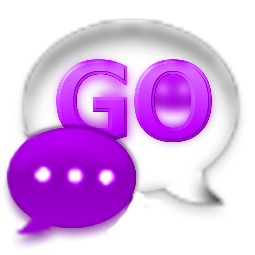 GO SMS Theme Purple Kush Glass LOGO-APP點子