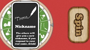 Screenshot of Drinking Game