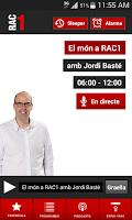 Screenshot of RAC1 Oficial