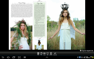 Screenshot of M Magazine
