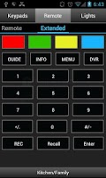 Screenshot of Pocket Keypad for Control4®