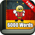 Learn German - 6,000 Words APK baixar