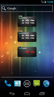 Screenshot of Uptime widget