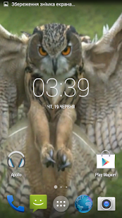 Flying Owl Live Wallpaper - screenshot