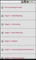 Screenshot of Consulting Tools