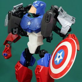 Captain America by Ronnie  BN - Artistic Objects Toys ( canon, macro, captain america, toys, tamron, miniature )