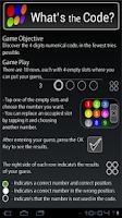 Screenshot of Whats the Code