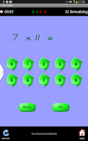 Screenshot of Times Tables Teacher