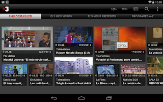 Screenshot of TV3