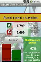 Screenshot of DFI Alcool Etanol ou Gasolina