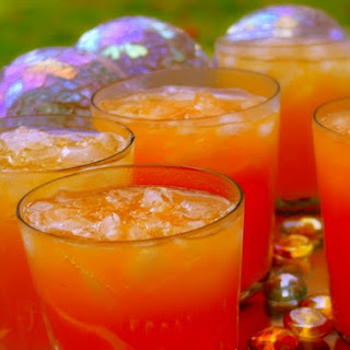 Sparkling Tropical Punch ~ For Adults