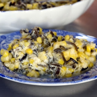 Fresh Corn with Wild Rice
