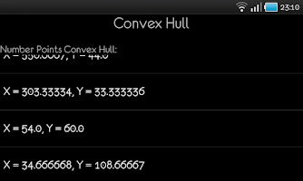 Screenshot of Convex Hull