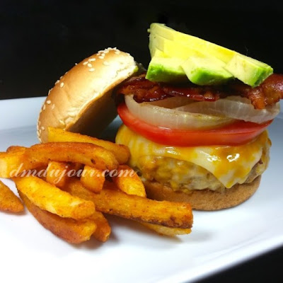 Turkey Burger Disguised as a Cheeseburger