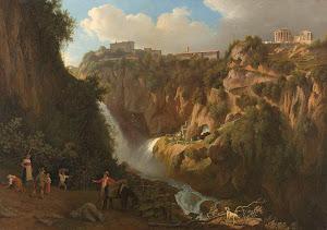 RIJKS: Abraham Teerlink: The Waterfall at Tivoli 1824