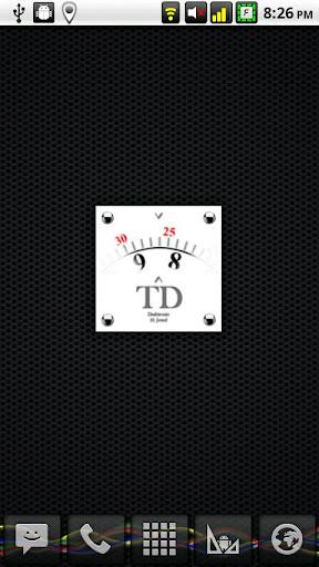 Dashtronic Clock Widget