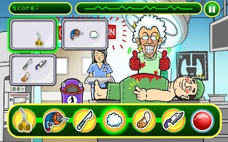 Screenshot of Mad Surgeon HD