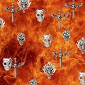 Skull Fire Live icon